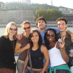international students having fun on a cultural outing