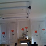 classroom decorated with flowers at inflexyon