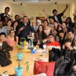 Etudiants internationaux dans un cours de français en France
